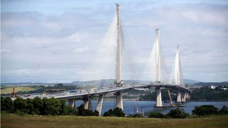 Image result for new forth road bridge